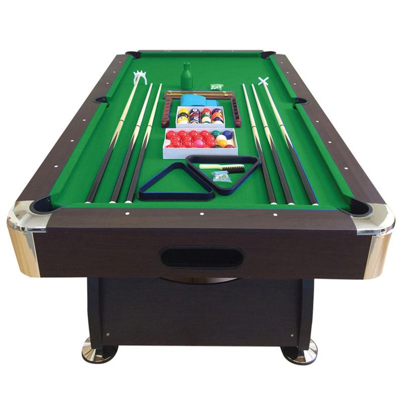 Pool table 7 feet green season simbashoppingusa for 12 foot snooker table for sale
