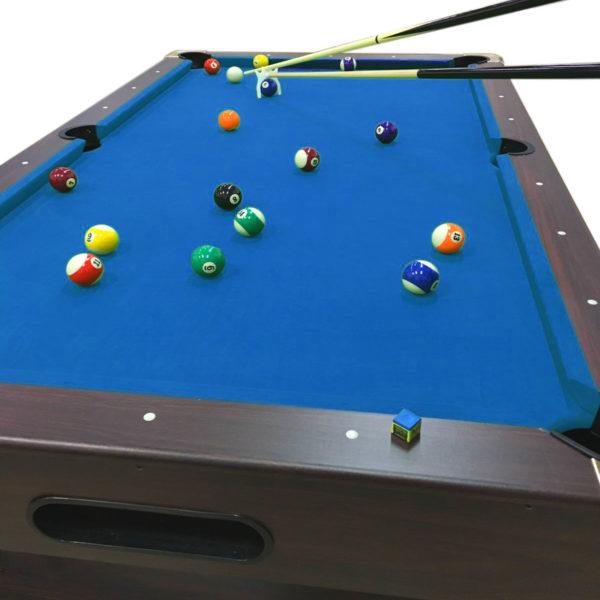 POOL TABLE 8u2032 FEET U2013 VINTAGE BLUE