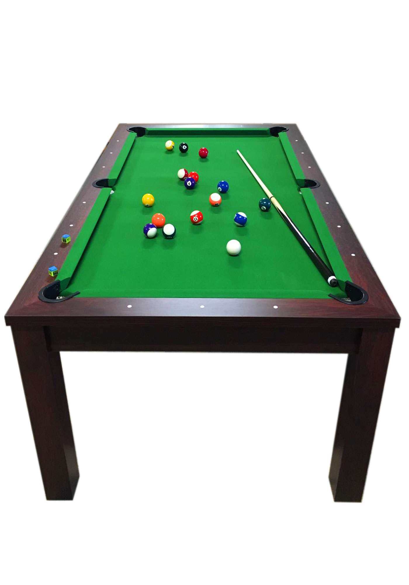 pool table 7' feet green and dining table  missisipi