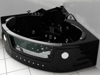 Whirpool Bathtub hot tub Black