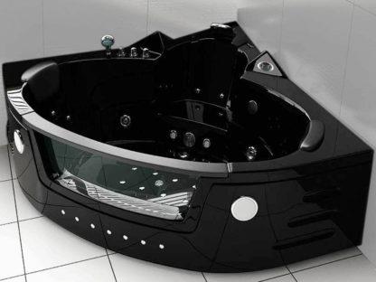 Whirpool Bathtub hot tub Black