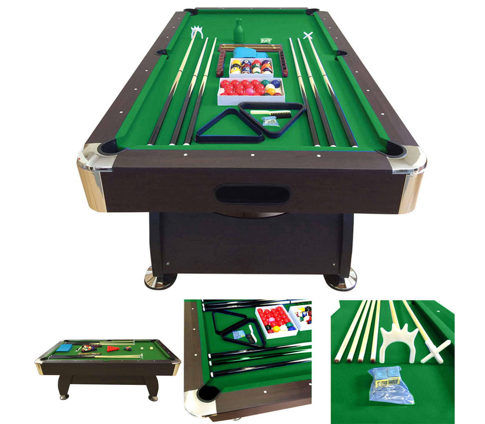 POOL-TABLE-8FT-VINTAGE-GREEN