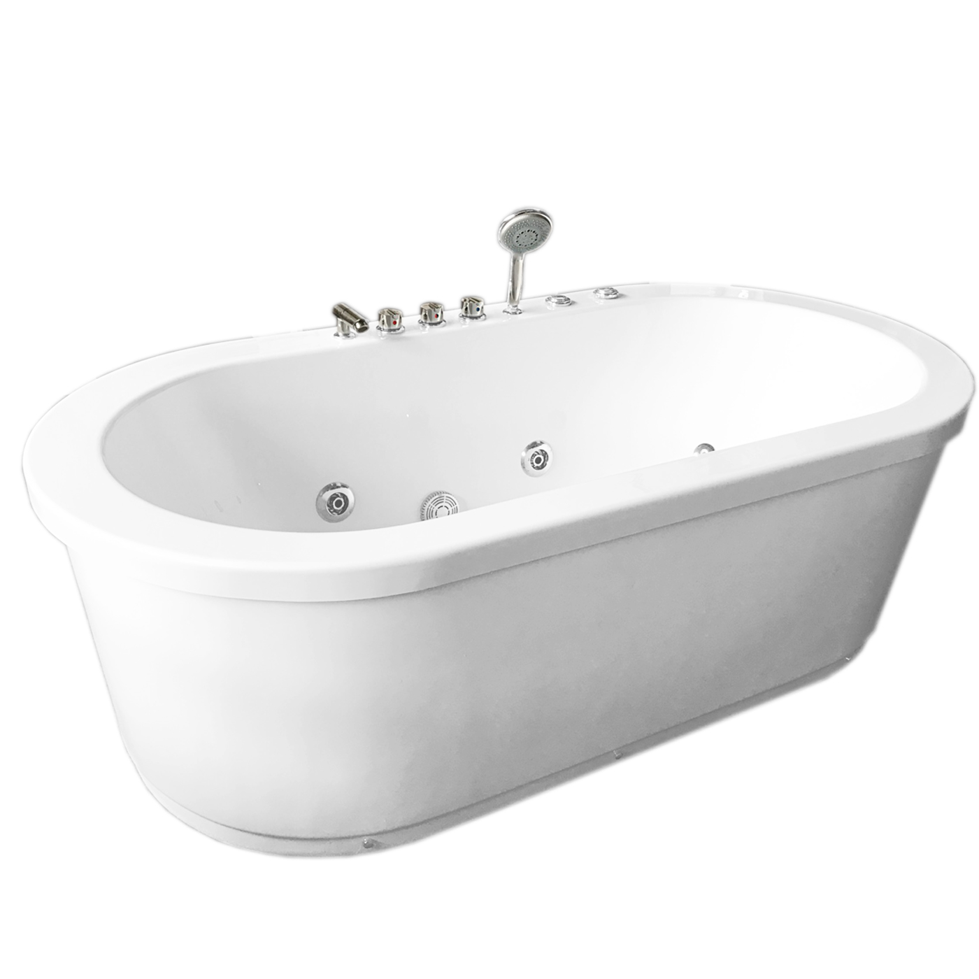 Rio - Whirpool Freestanding Bathtub hot tub - SimbashoppingUSA
